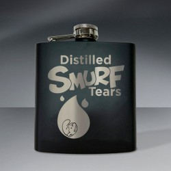 Smurf Tears Flask