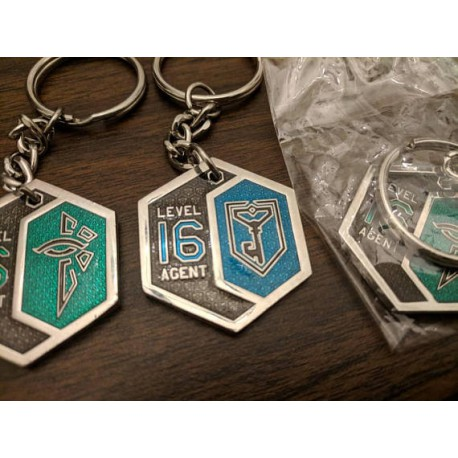 Ingress Level 16 Keychain