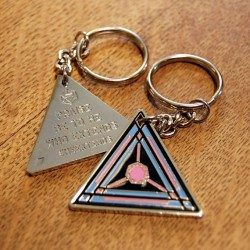 Ingress Link Amp Keychain