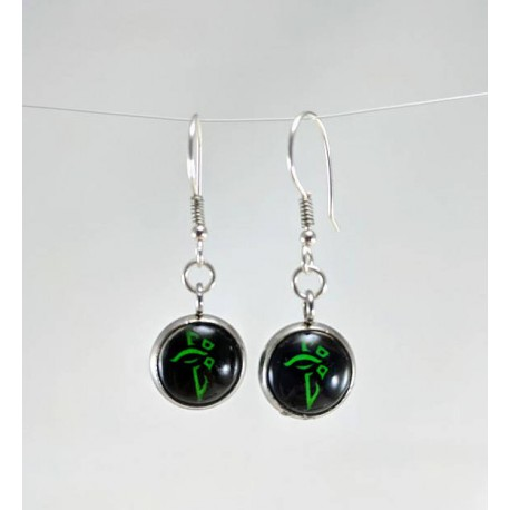 Ingress Enlightened Earrings