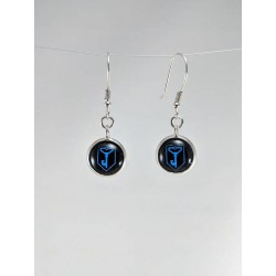 Ingress Resistance Earrings - Black