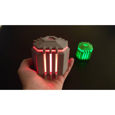Ingress Coin Capsule with LED light