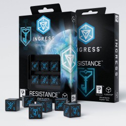 Ingress 6D6 Dice Set: Resistance