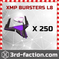 Ingress XMP Bursters L8 x 250