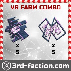 Ingress Very Rare Farm Combo