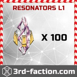 Ingress Resonators L1 x 100