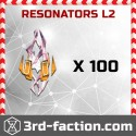 Resonators L2 x 100