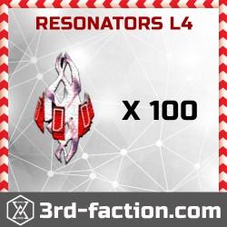 Resonators L4 x 100