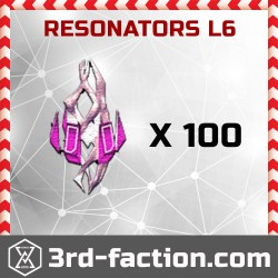 Resonators L6 x 100