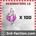 Resonators L6 x 100