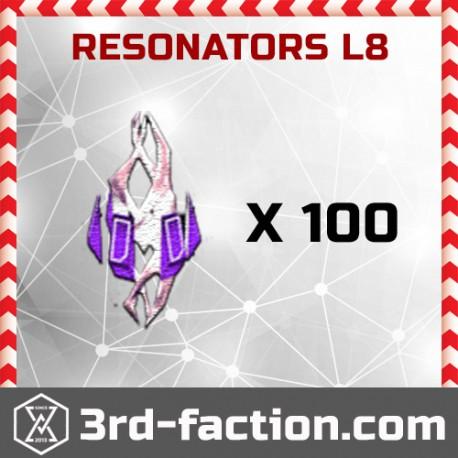 Ingress Resonators L8 x 100