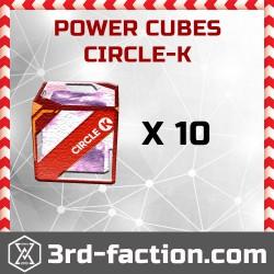 Circle-K Power Cube x10