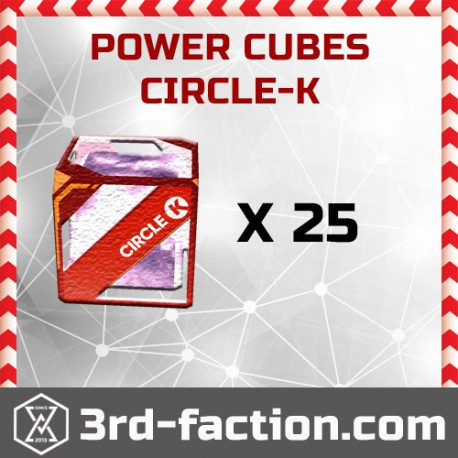 Ingress Circle-K Power Cube x25