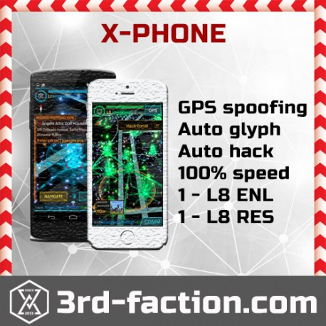 Ingress Farming X-Phone
