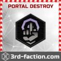 Destroy any Ingress Portal
