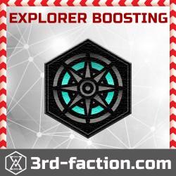 Explorer boost (+300 portals)