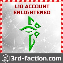 Ingress ENLIGHTENED Acc L10 (founder badge)