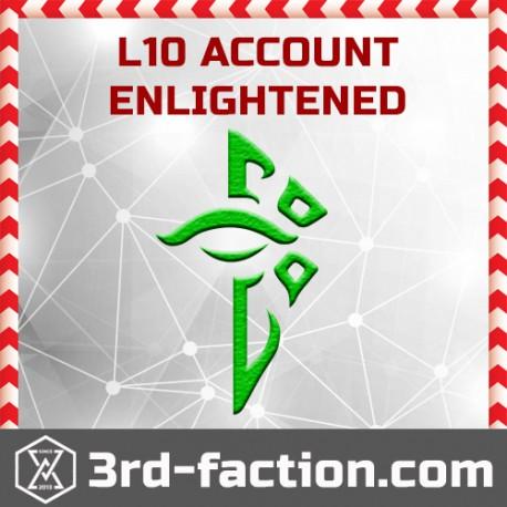 Ingress ENLIGHTENED Acc L10 (founder badge)