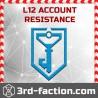 Ingress RES Acc LVL 12