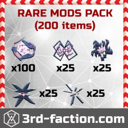 Ingress Rare Mods Pack