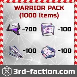 Warrior Pack L8 x1000