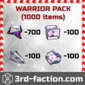 Warrior Pack L8 x1000
