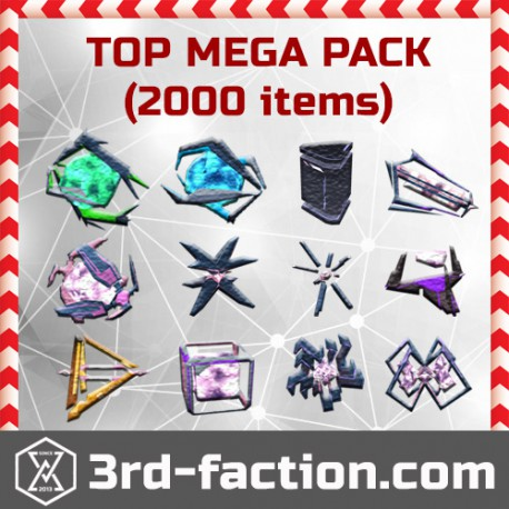 Ingress MEGA TOP Pack L8 x2000