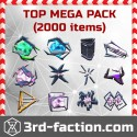 MEGA TOP Pack L8 x2000