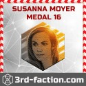 NEW Susanna Moyer Badge