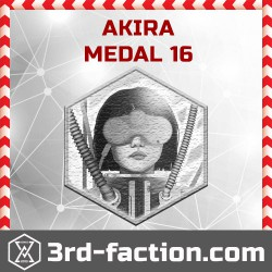Ingress Akira Badge