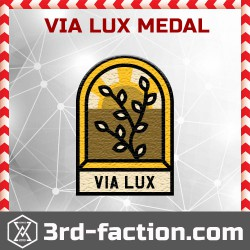 Ingress Via Lux Badge (Medal)