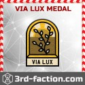 Via Lux Badge (Medal)