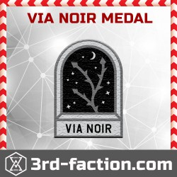 Ingress Via Noir Badge (Medal)