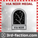 Via Noir Badge (Medal)