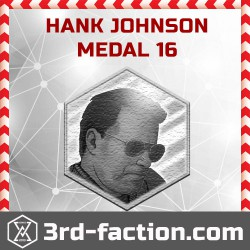Ingress Hank Johnson Badge