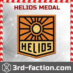 Ingress Helios Badge (Medal)