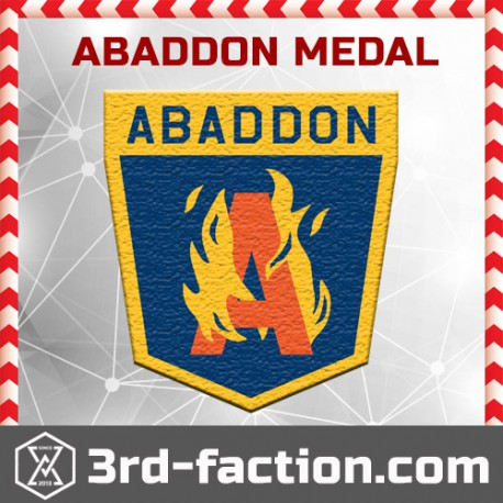 Ingress Abaddon Badge (Medal)