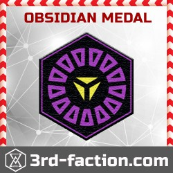 Ingress Obsidian Badge (Medal)