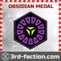 Obsidian Badge (Medal)