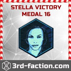 Ingress Stella Victory Badge