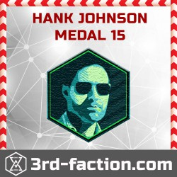 Ingress Hank Johnson 2015 Badge