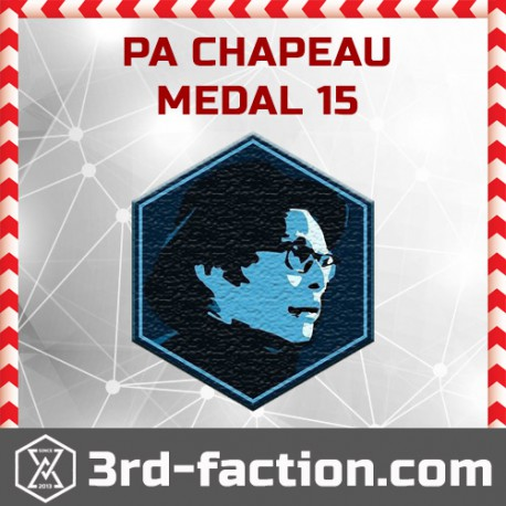 Ingress PA Chapeau 2015 Badge
