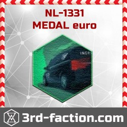 Ingress NL-1331 euro Badge