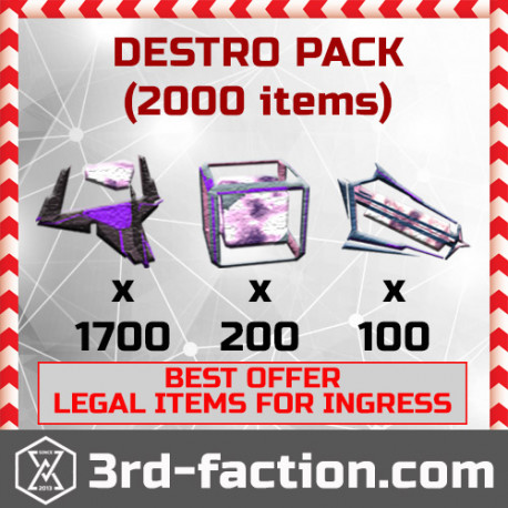 Ingress Destroyer Pack L8