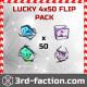 Lucky 4x50 Flip Pack