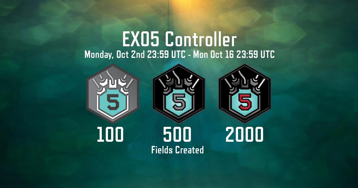 EXO5 controller event