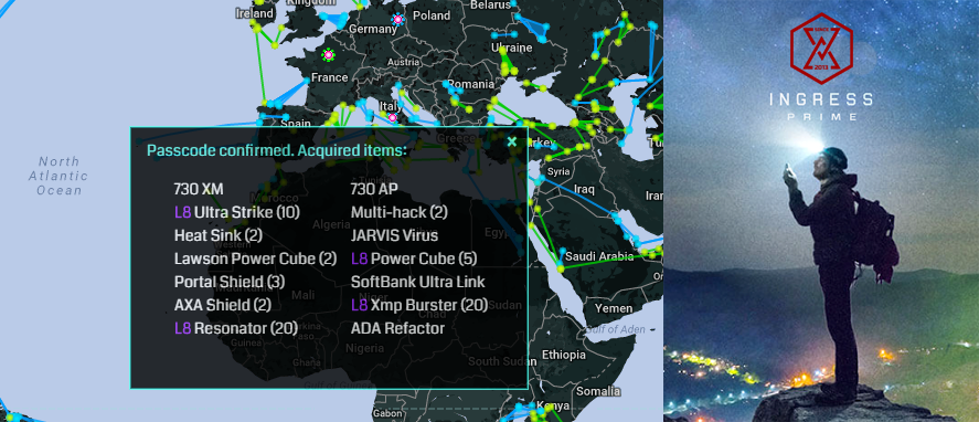 ingress 2019 passcodes prime