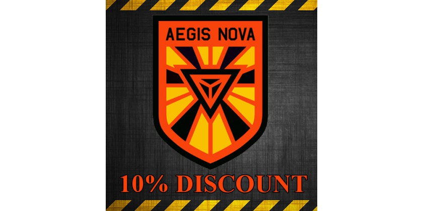 10% discount for XM Anomaly AEGIS NOVA (for all items)