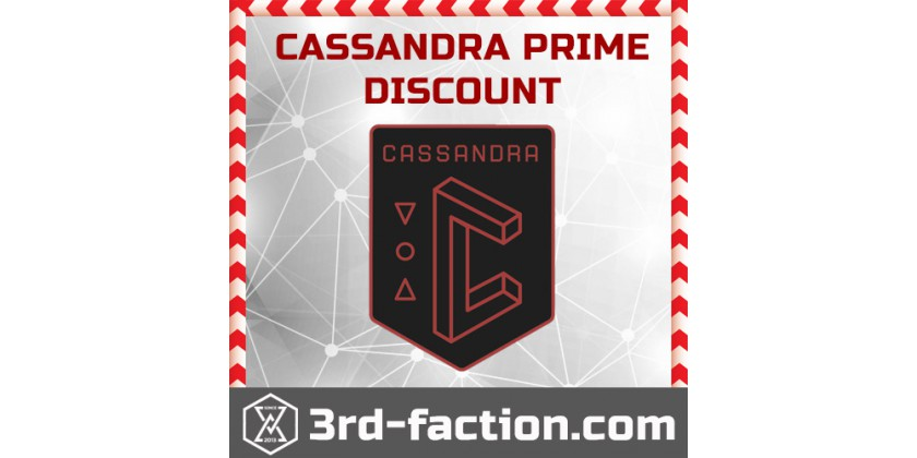 Cassandra Anomaly and 30% Discount from our Team