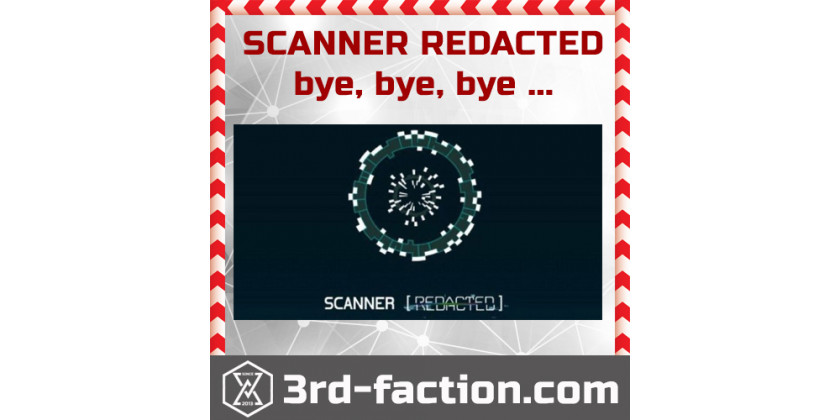 Scanner Redacted will be dead on September. Old Ingress Rip!
